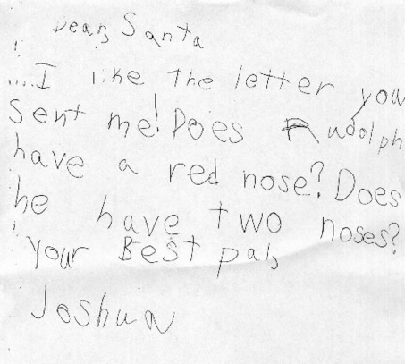 Rudolph the red nosed mutant awesome santa letter advertisements spiritdancerdesigns Gallery